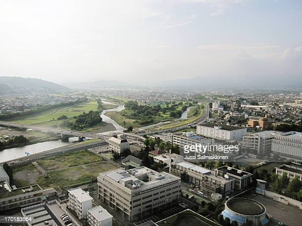 takasaki city - gunma prefecture stock photos and pictures