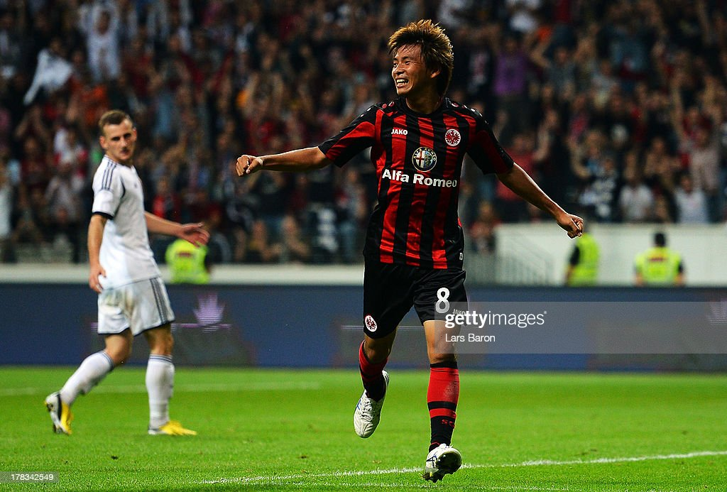 Eintracht Frankfurt v Qarabag FK - UEFA Europa League Play-Offs: Second Leg