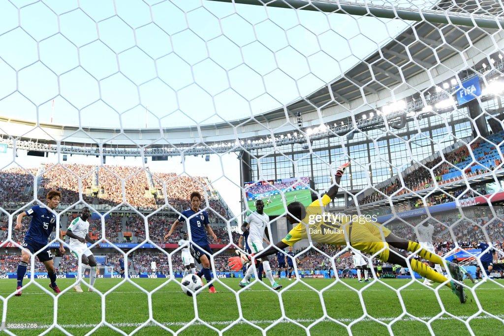 Japan v Senegal: Group H - 2018 FIFA World Cup Russia : ニュース写真