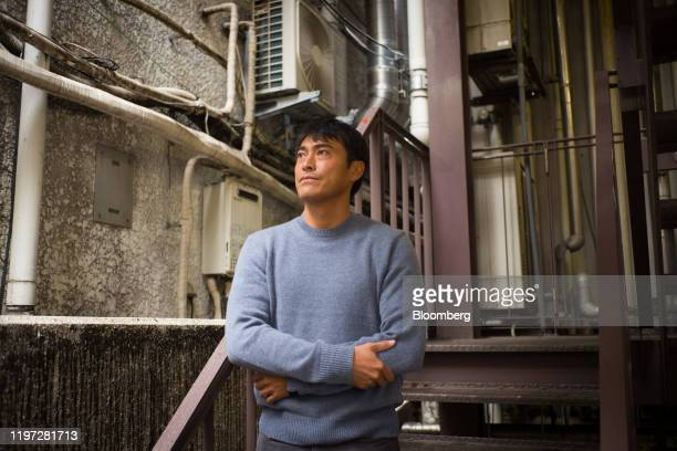 Takashi Kato chief executive officer of Fracta poses for a photograph in Tokyo Japan on Wednesday Nov 27 2019 Fracta is a software startup based in...