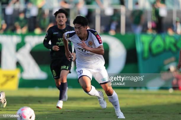 Takashi KAWANO of Giravanz Kitakyushu in action during the J.League Meiji Yasuda J2 match between Tokyo Verdy and Giravanz Kitakyushu at Ajinomoto...