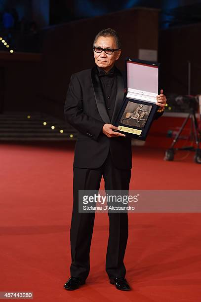 Takashi Miike Awarded With The Maverick Director Award during the 9th Rome Film Festival on October 18 2014 in Rome Italy