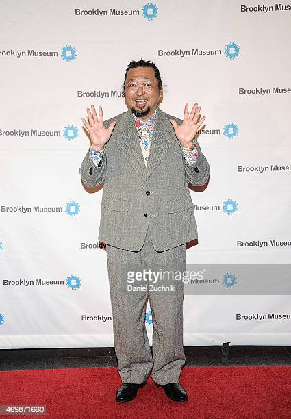 Takashi Murakami attends the 5th Annual Brooklyn Artists Ball at Brooklyn Museum on April 15 2015 in New York City