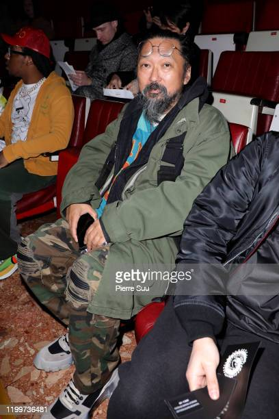 Takashi Murakami attends the Undercover Menswear Fall/Winter 2020-2021 show as part of Paris Fashion Week on January 15, 2020 in Paris, France.