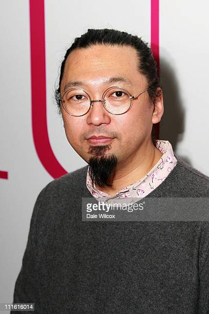 Takashi Murakami hosts a special talk to commemorate the closing of the Murakami Exhibition at the Geffen Contemporary at MOCA on February 10 in Los...