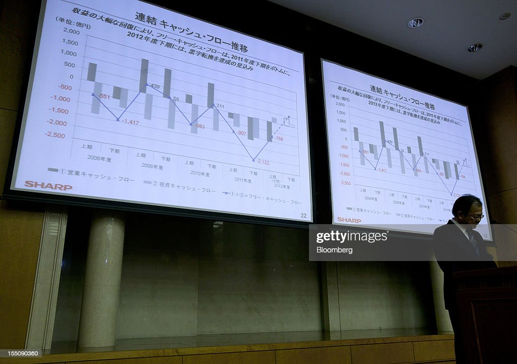Sharp CEO Takashi Okuda Earnings News Conference