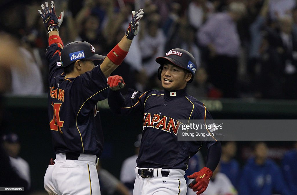 Japan v Chinese Taipei - World Baseball Classic Second Round Pool 1 : ニュース写真