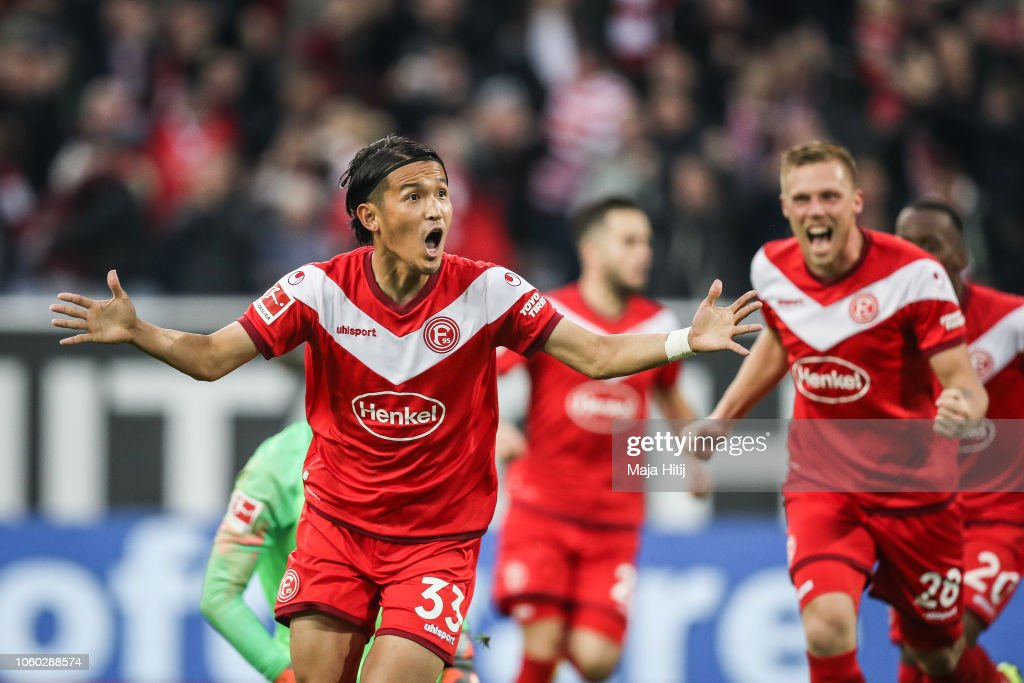 Fortuna Duesseldorf v Hertha BSC - Bundesliga : News Photo