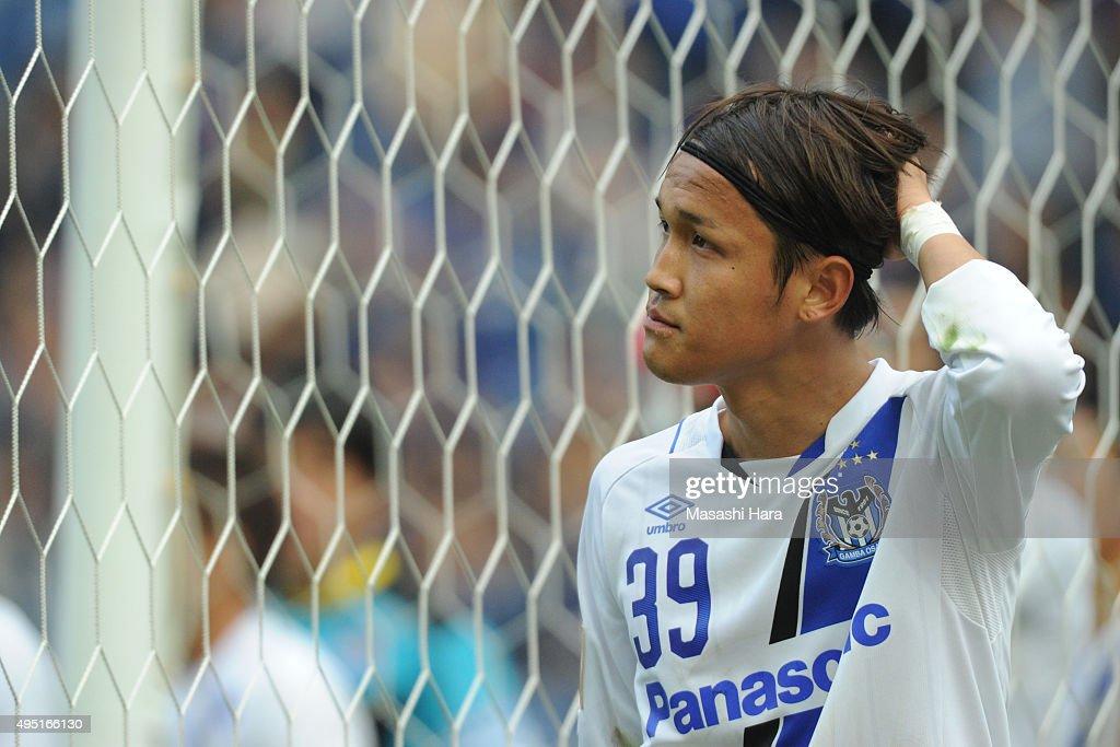Kashima Antlers v Gamba Osaka - J.League Yamazaki Nabisco Cup Final : ニュース写真