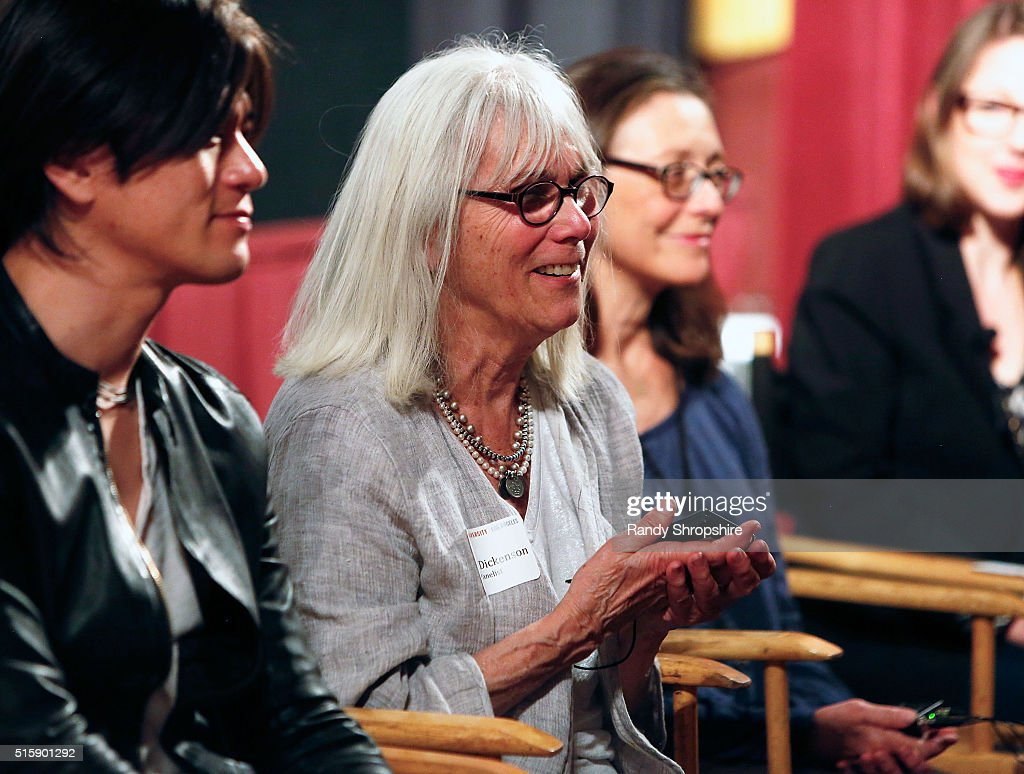 Takashi Yamaguchi, Nancy Dickenson, and Donna Morong attend the Syracuse University Sophie Screening on March 15, 2016 in Beverly Hills, California.