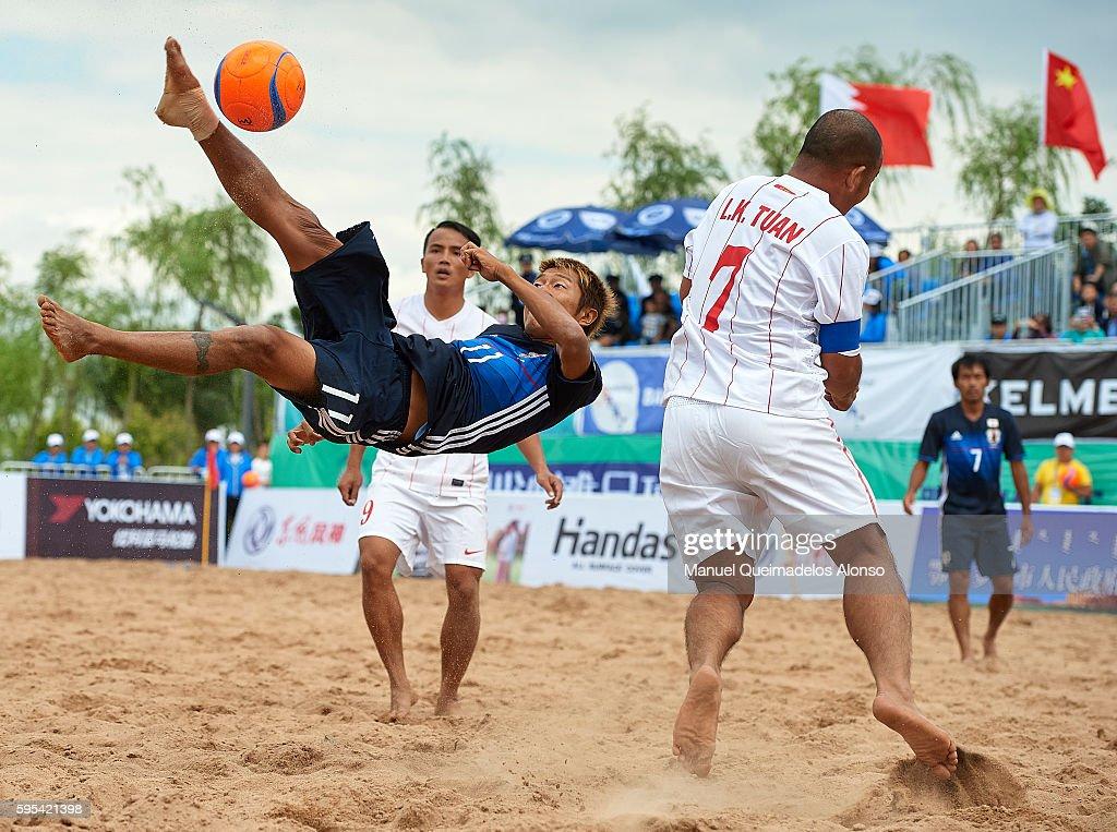 Continental Beach Soccer Tournament Ordos 2016 : ニュース写真