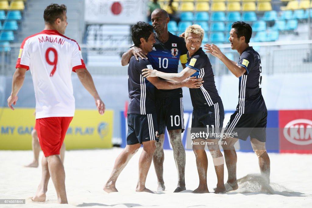 Japan v Poland - FIFA Beach Soccer World Cup Bahamas 2017 : ニュース写真