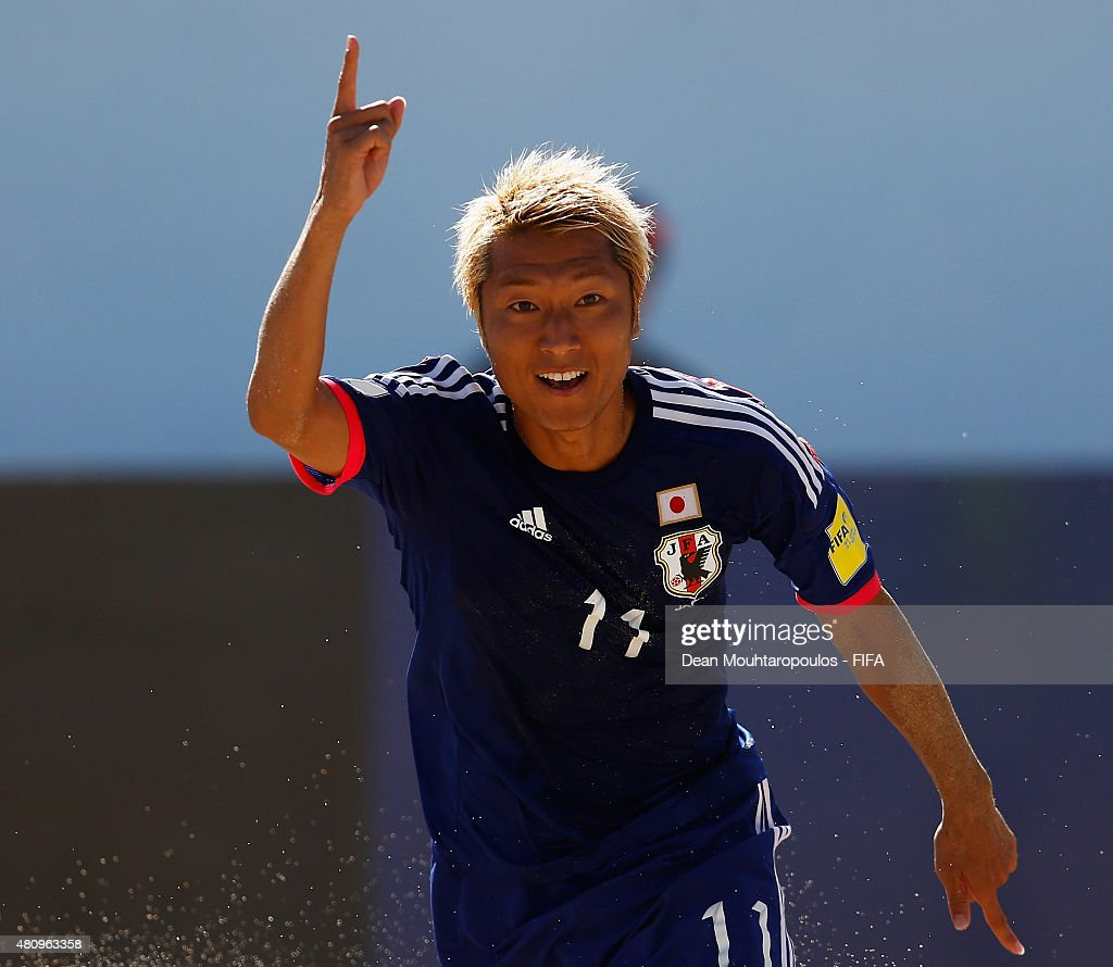 Italy v Japan: Quarter-final - FIFA Beach Soccer World Cup