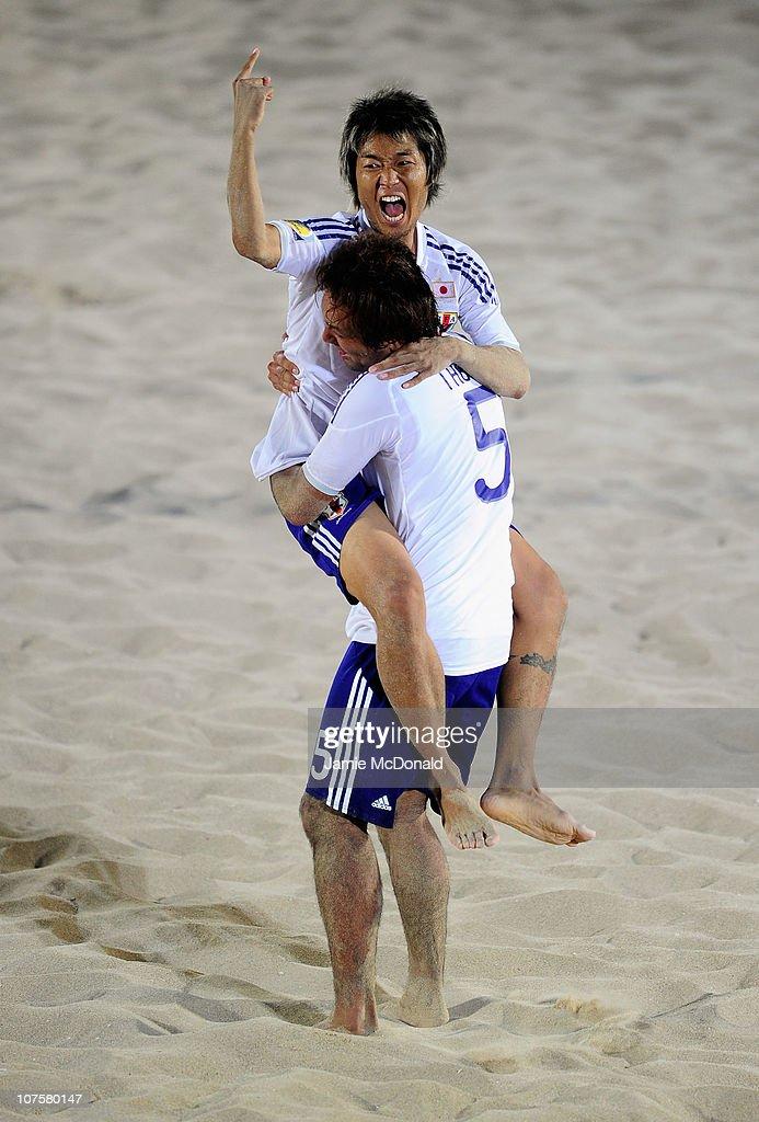2nd Asian Beach Games - Day 7: Beach Soccer : News Photo