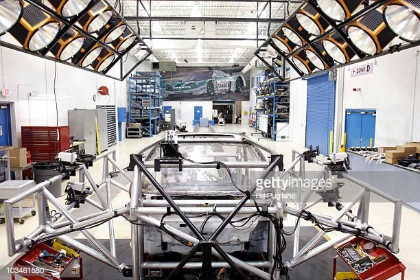 Takata's current crashtesting facility is seen August 19 2010 in Auburn Hills Michigan Takata dedicated a new hightech 18000 squarefoot sled crash...