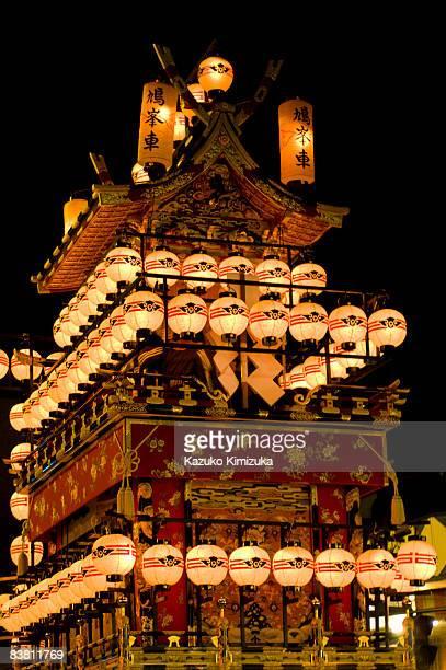 takayama festival - kazuko kimizuka stock-fotos und bilder
