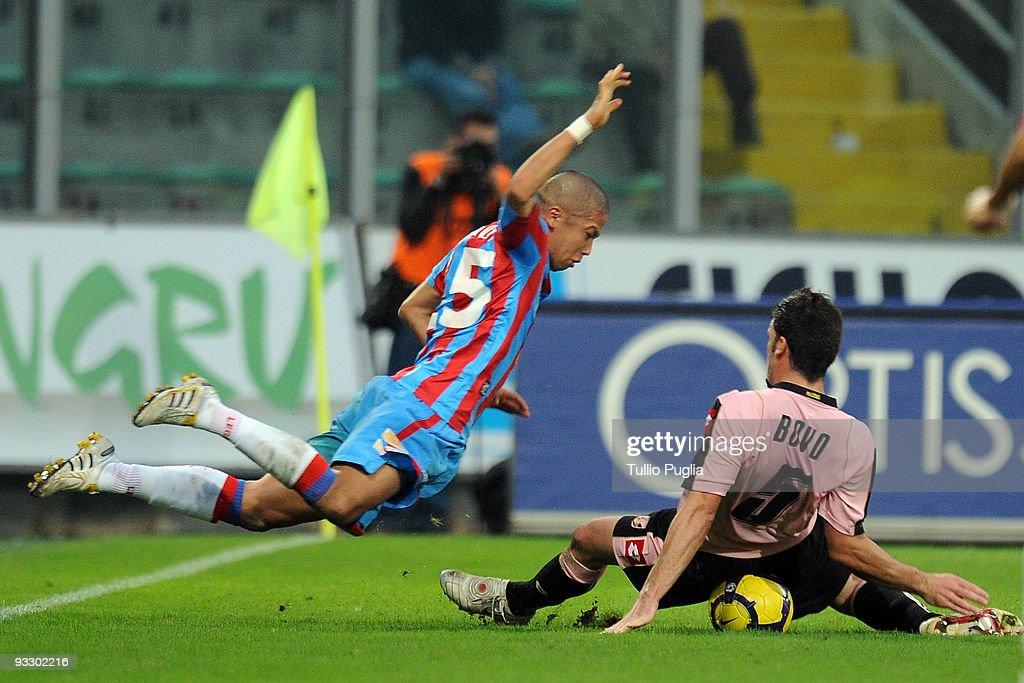 US Citta di Palermo v Catania Calcio - Serie A