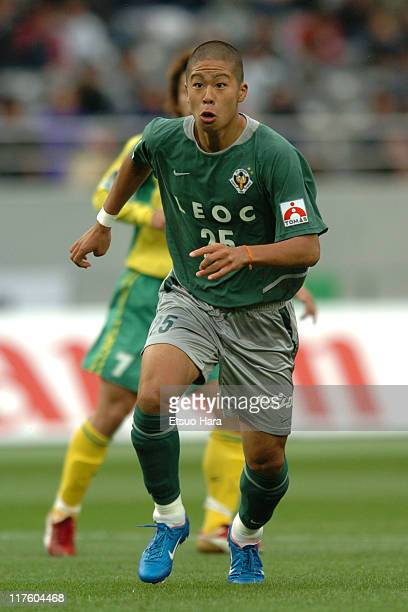 Takayuki Morimoto of Tokyo Verdy 1969 in action during the JLeague Division 1 first stage match between Tokyo Verdy 1969 and JEF United Ichihara at...