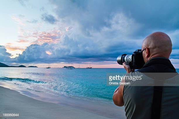 Take a picture to Hillsborough Bay, Carriacou