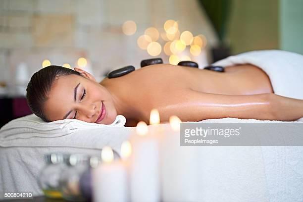 Prenez des vacances sur la table de massage