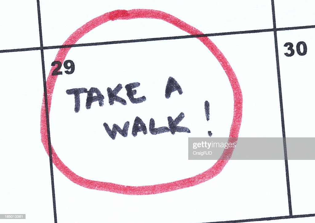 Take a Walk : Stock Photo