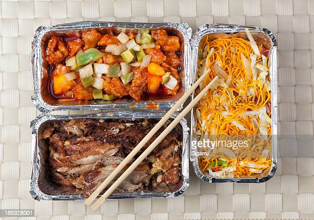 take away food - chinese takeout stock pictures, royalty-free photos & images