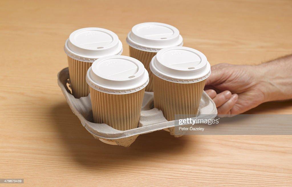Take away tee/coffee cup : Stock Photo