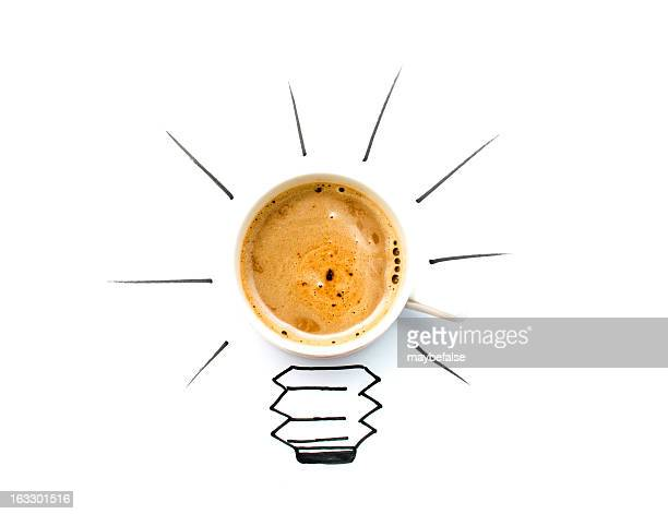 take coffee and get a better idea