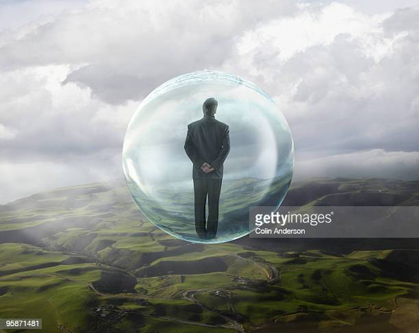 take me away - people inside bubbles stock pictures, royalty-free photos & images