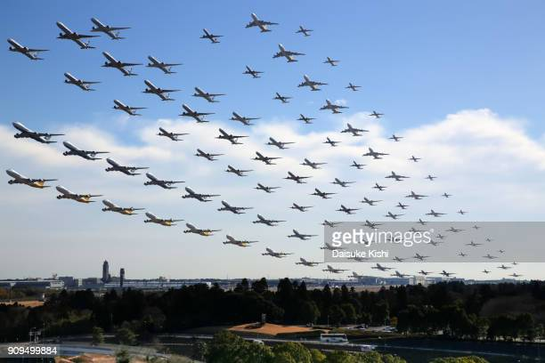 take off - chiba city stock pictures, royalty-free photos & images