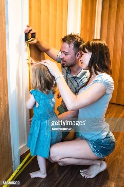 die Höhe der Tochter