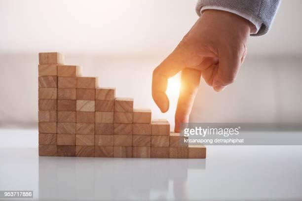 take the next steps to your goals. business development concept - wettbewerb konzepte stock-fotos und bilder