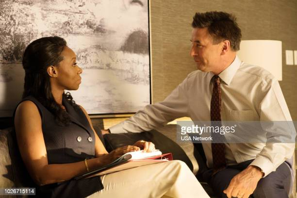 THE PURGE 'Take What's Yours' Episode 102 Pictured Amanda Warren as Jane Billy Baldwin as Don Ryker