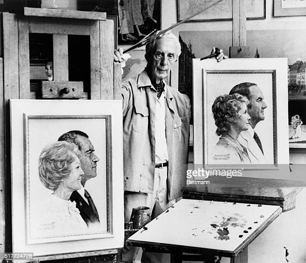 Take your choice of presidential candidates as painted by Norman Rockwell, whose personal preference is beside the point, stands between his...