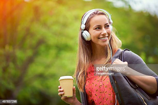 Take your music and coffee with you