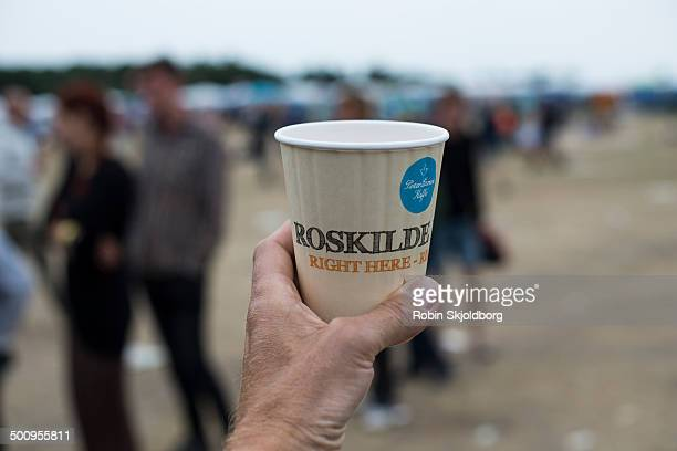 Takeaway coffee at Roskilde Festival