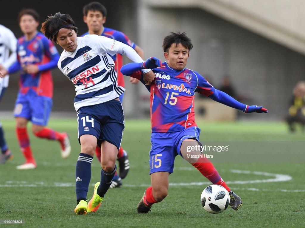 FC Tokyo v Yokohama F.Marinos - Preseason Friendly : News Photo