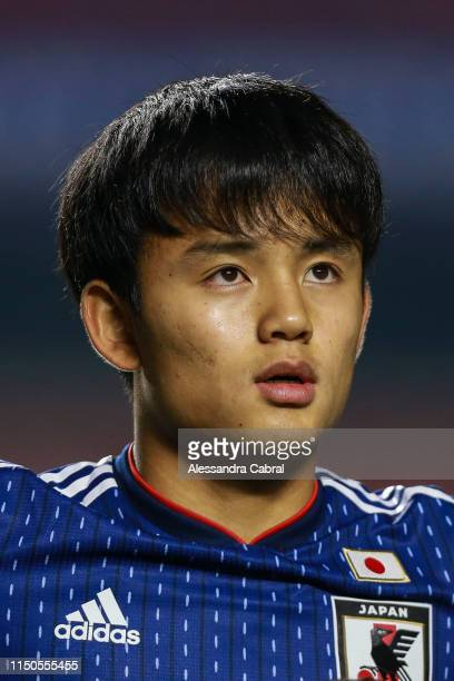 Takefusa Kubo of Japan before game as part of Copa America Brazil 2019 at Morumbi Stadium on June 17 2019 in Sao Paulo Brazil