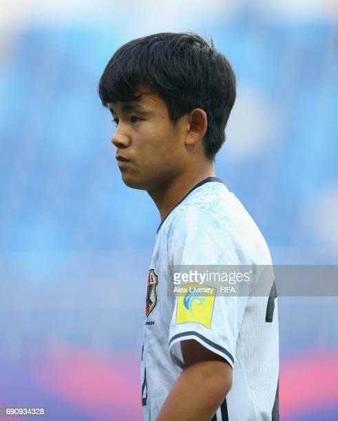 Takefusa Kubo of Japan during the FIFA U20 World Cup Korea Republic 2017 Round of 16 match between Venezuela and Japan at Daejeon World Cup Stadium...