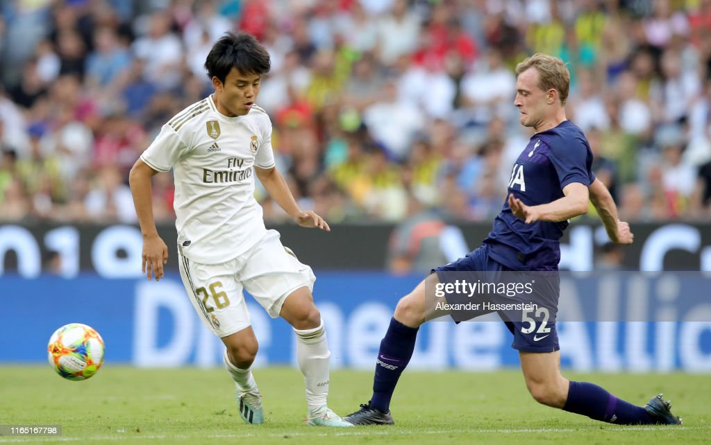 Real Madrid v Tottenham Hotspur - Audi Cup 2019 Semi Final : ニュース写真
