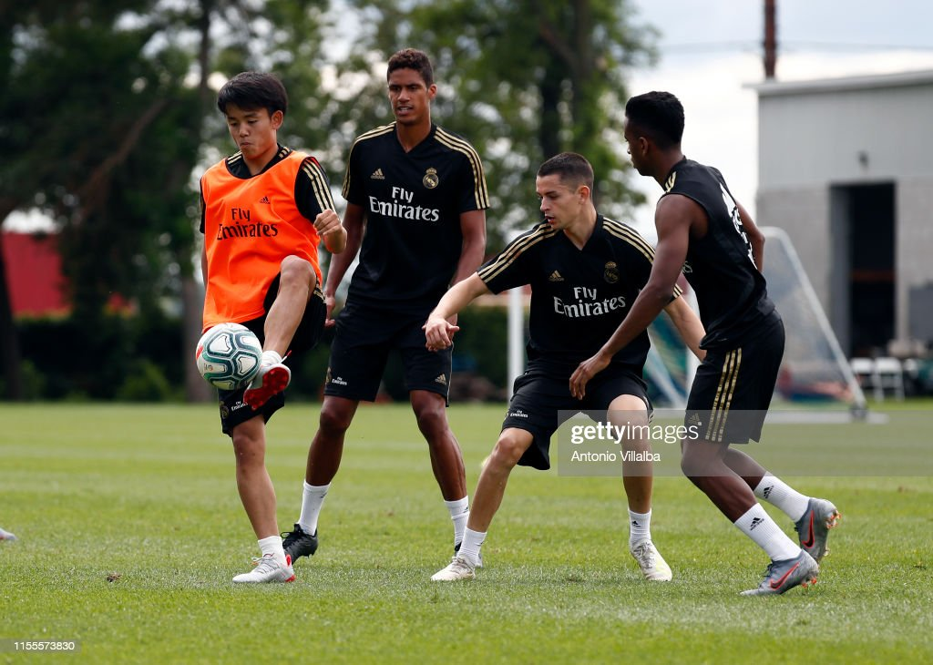 Real Madrid Pre-Season Training Camp : ニュース写真