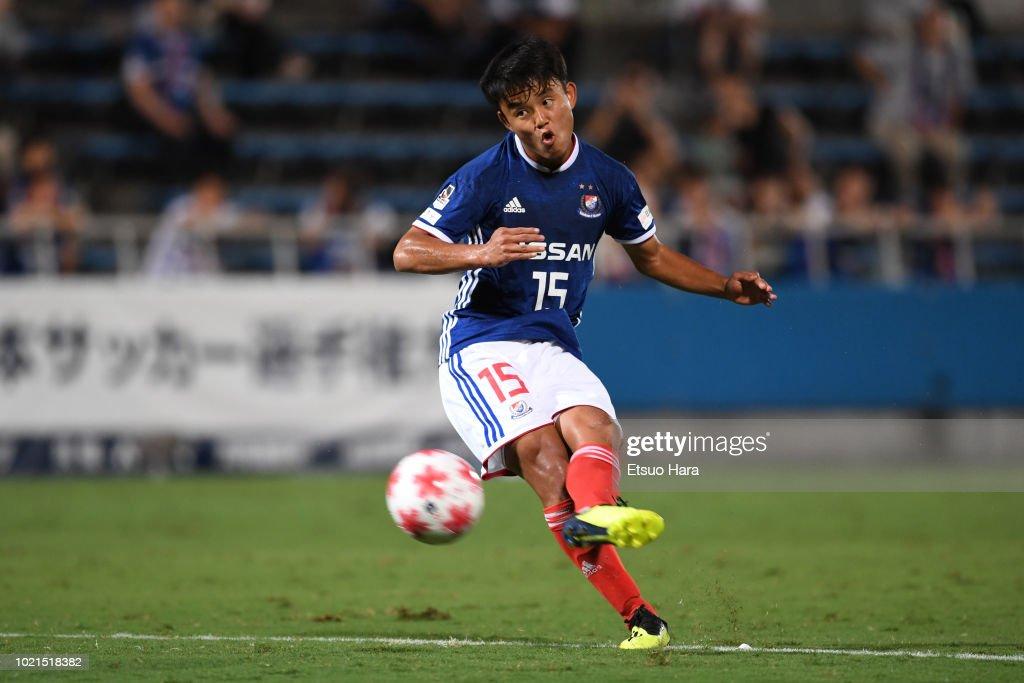 Yokohama F.Marinos v Vegalta Sendai - 98th Emperor's Cup Round of 16 : ニュース写真