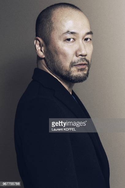 Takehiko Inoue portrait session private shooting on March 22 2013 in Paris France