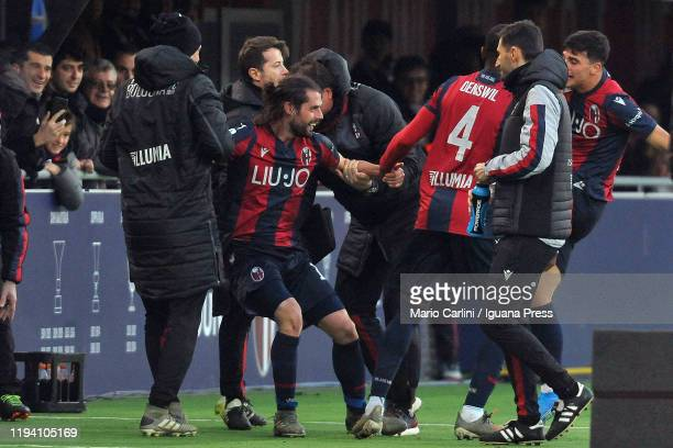 Takehiro Tomiyasu of Bologna FC in action during the Serie A match between Bologna FC and Atalanta BC at Stadio Renato Dall'Ara on December 15 2019...