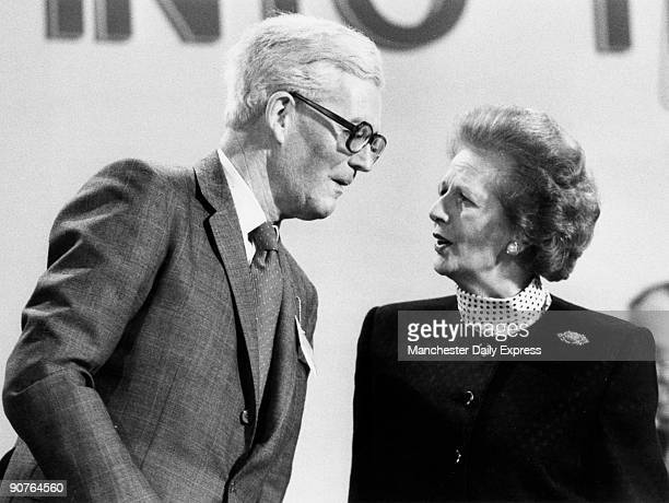 Taken at a conference in Scarborough, North Yorkshire. Margaret Hilda Thatcher was born in 1925. She studied chemistry at Oxford University, and...