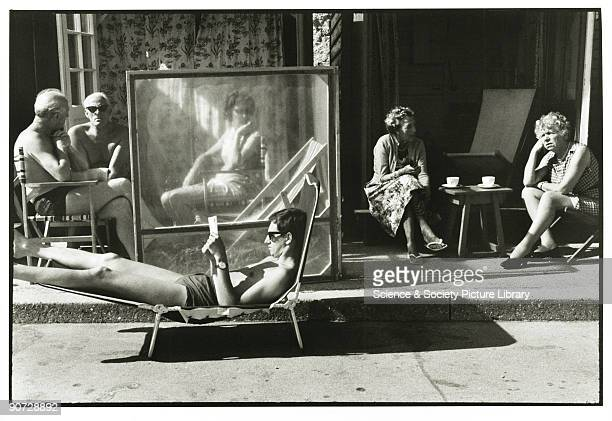 Taken at Bournemouth Dorset Photographer Tony RayJones created most of his images of the British at work and leisure between 1966 and 1969 Travelling...