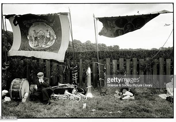 Taken at Durham miners' gala County Durham Photographer Tony RayJones created most of his images of the British at work and leisure between 1966 and...