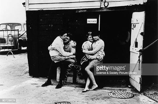 Taken at Mablethorpe in Lincolnshire Photographer Tony RayJones created most of his images of the British at work and leisure between 1966 and 1969...