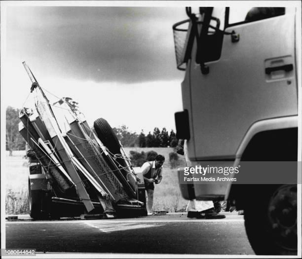 Taken at Nabiac near TareeTrailer towed by 4WD January 22 1993