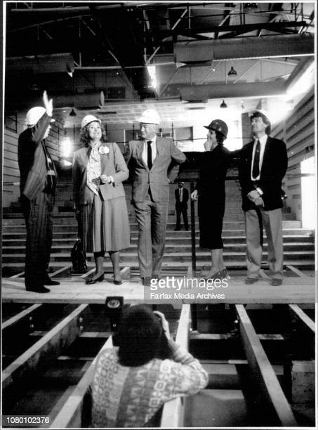 Dame Joan Sutherland visits the nearly completed Joan Sutherland performing Arts CentreA Ban on the Media covering the visit was lifted this...